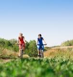 Relax biking Stock Photo