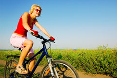 Relax biking Royalty Free Stock Image