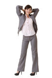 Relax business woman Stock Images