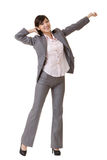 Relax business woman Royalty Free Stock Photo