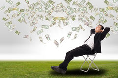 Relax businessman Royalty Free Stock Photos