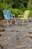 Relax chairs Royalty Free Stock Images