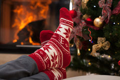 Relax after christmas Royalty Free Stock Photo