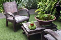 Relax corner on the loft Royalty Free Stock Image