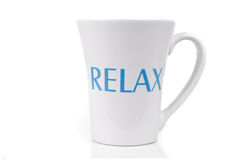 Relax cup royalty free stock photos