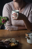 Relax with a Cup of Tea Stock Photography