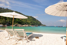 Relax day at Raya Island, Phuket Royalty Free Stock Photos