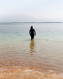 Relax at the Dead sea. Royalty Free Stock Photography