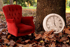 Relax, is fall time concept vintage background Stock Images