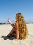 Relax girl. Stock Photos