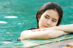Relax girl Stock Images