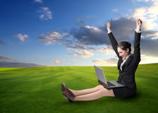 Relax is good for work Royalty Free Stock Photos