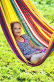 Relax in hammock Royalty Free Stock Image