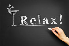 Relax! Stock Photography