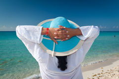 Relax on holiday Stock Images