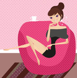 Relax at home Royalty Free Stock Images