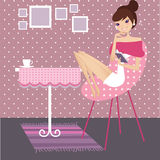 Relax at home Royalty Free Stock Photo
