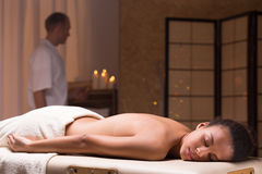 Relax è importante per salute Fotografia Stock Libera da Diritti