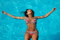 Free Relax In A Swimming Pool Stock Images - 15535134
