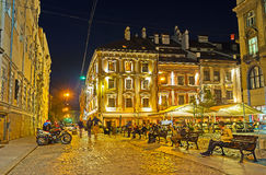 Relax In Evening Lvov Stock Image