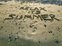 Relax its Summer Royalty Free Stock Photo
