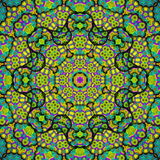 Relax kaleidoscope. Mandala relax kaleidoscope for relax time Stock Photography