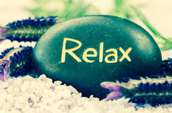 Relax lava stone Royalty Free Stock Photography