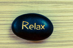 Relax lava stones Royalty Free Stock Images