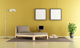 Relax in a living room Stock Photography