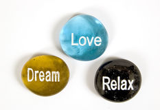 Relax Love Dream Royalty Free Stock Images