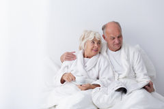 Relax with a loved one for so many years Stock Photo