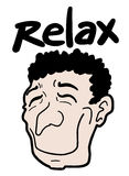 Relax man Stock Photography