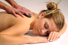 Relax massage Royalty Free Stock Photography