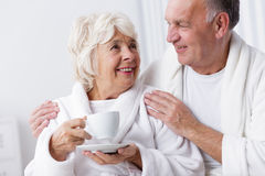 Relax at the morning Stock Photos