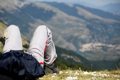 Relax on the Mountain Royalty Free Stock Images