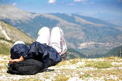 Relax on the Mountain Royalty Free Stock Photography