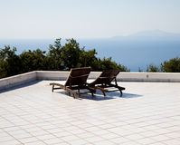Relax - Naples Gulf Stock Image