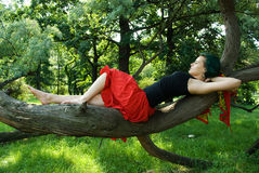 Relax in nature Stock Image