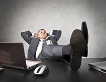 Relax at the office royalty free stock image