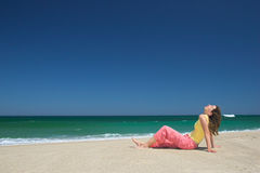 Free Relax On The Beach Royalty Free Stock Photography - 1844087