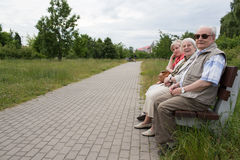 Relax in park. Royalty Free Stock Images