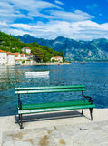 Relax in Perast Stock Image