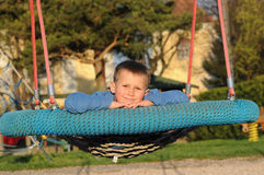Relax on playground Stock Images