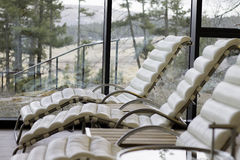 Relax. A quiet place to lay with your thoughts or just take in some beautiful  scenery Stock Photo
