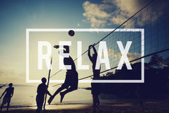 Relax Recreation Chill Rest Serenity Concept royalty free stock photos