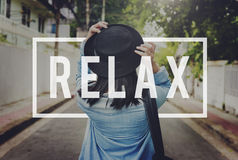 Relax Recreation Chill Rest Serenity Concept Royalty Free Stock Images