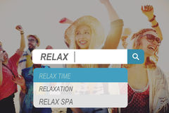 Relax Relaxation Leisure Free Carefree Resting Peace Concept stock photos