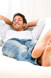 Relax and rest at home Royalty Free Stock Photos