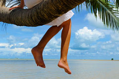 Relax by the sea Royalty Free Stock Photos