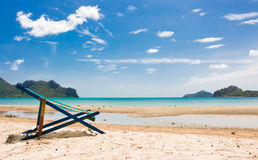 Relax in sea beach travel Royalty Free Stock Images